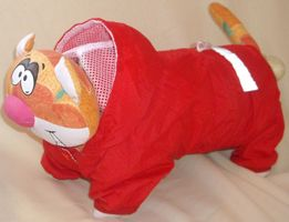 Ветровка-дождевичок на маленькую собачку, кота