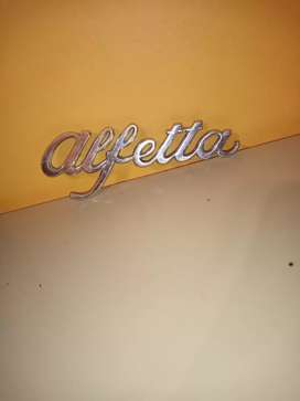 Alfetta badge in awesome condition