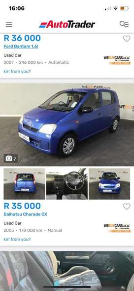 Im looking for a car to pay installments