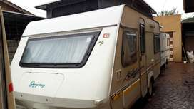 GYPSEY CARAVETTE 5 1995 MODEL WITH FULL TENT AND RALLY TENT