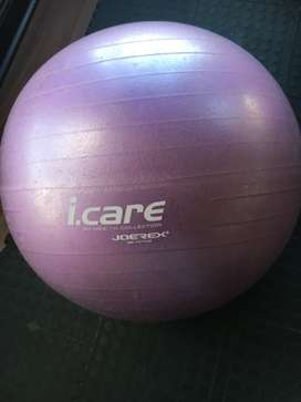 Pink fit-ball