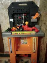 Игровой набор Faro Ремонтная мастерская, верстак Италия
