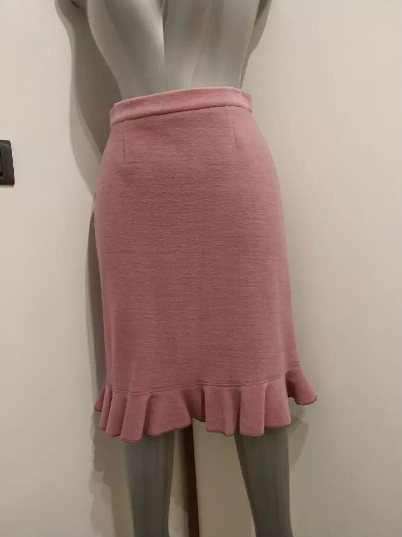 Zimska suknja roza 38 0