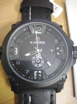 Brand New Black Naviforce 30M Waterproof Men's Watch