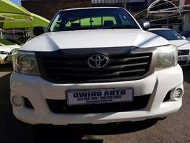 Used 2015 Toyota hilux 2.5D4D manual