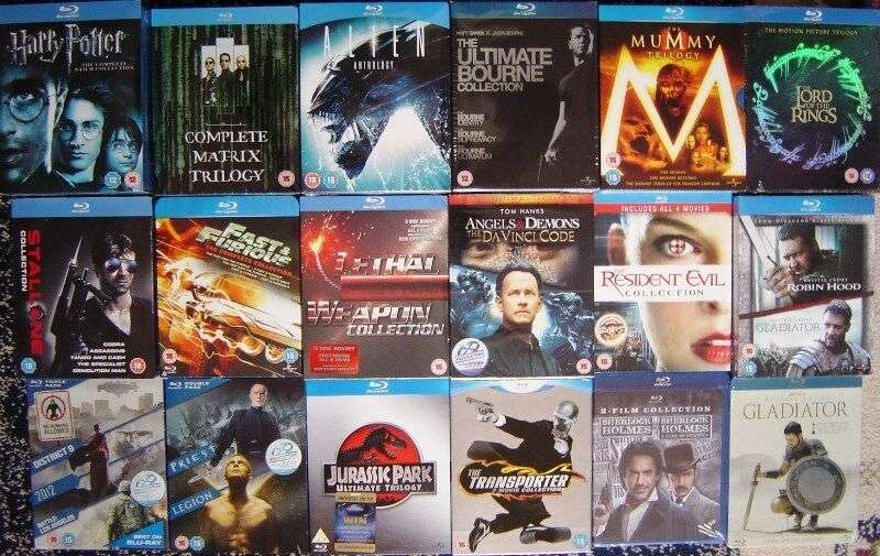 Bluray Box Sets for sale, all Brand New Originals 0