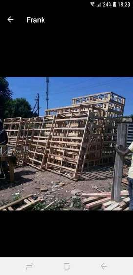 Bed bases structure manufacturing