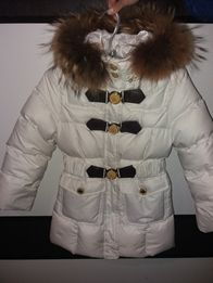 Курточка пуховик зимняя на девочку