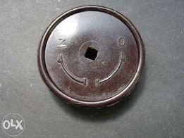 Stare bakelitowe zawory zawór grzejnikowe pokrętła pokrętło kurek
