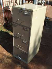 Image of Office Filing Cabinet (Steel)