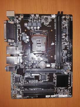 Gigabyte H110M motherboard, LGA1151 socket, compatible with 6th gen