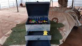 Tackle box and stand for sale