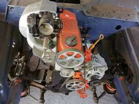 Lada niva with vw golf engine projec every there to finish, piwer mods