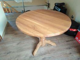 Stół okrągły, solidny