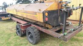Watertank with trailer