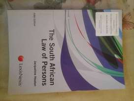The South African Law of Persons 5th edition