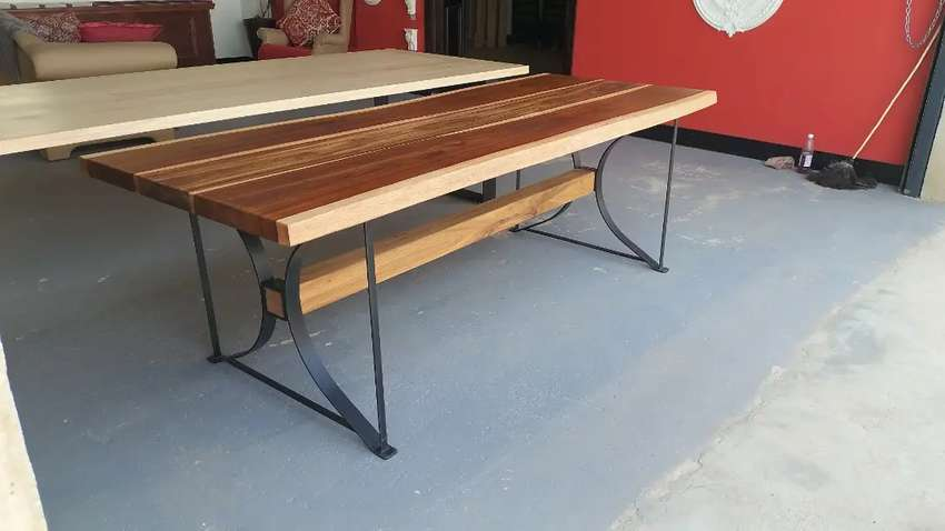 8-10 seater Live edge dining table