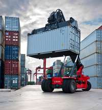 Image of Container handler training center call or whatsapp