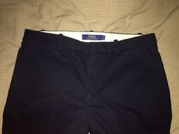 Spodnie Ralph Lauren granatowe