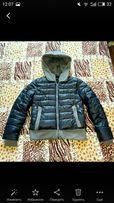 бомпер, куртка мегатеплая!курточка с капюшоном, пуховик зима