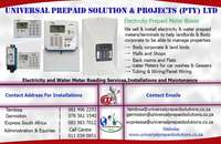 Image of Universal Prepaid Electricty Meter Boxes & Water Meters,Solar Panels