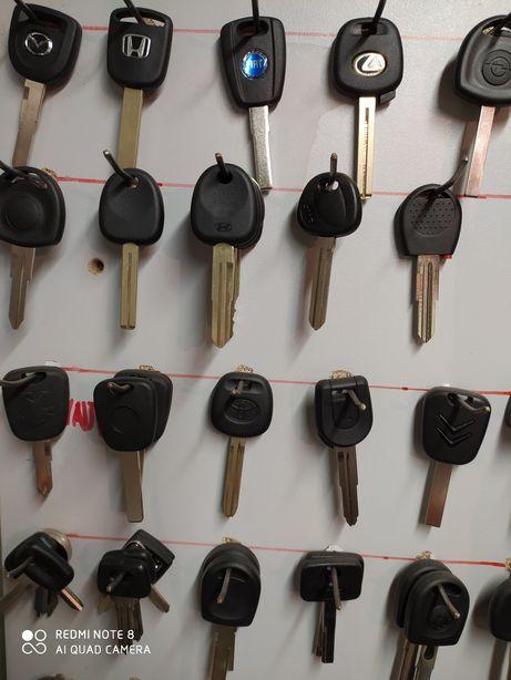 Заготовки для изготовления ключей.