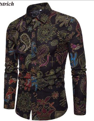 Рубашка мужская новая размер L. Степанки - изображение 2