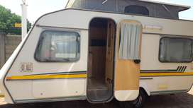 gypsey caravette 5 with full tent