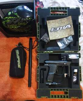 Eclipse etha and paintball gear