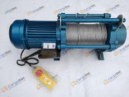 Электрическая лебедка, Электролебедка, Электротельфер KCD 300,600,1000