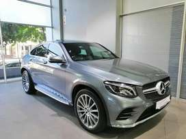 2019 GLC 250D coupe 4matic