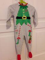 Pajac, strój na Święta, elf, 9-12 mies