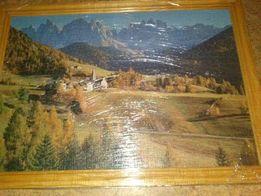 Картины из пазлов (1000 шт)
