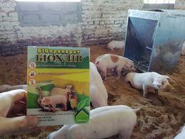 Бактерии , ферментационная подстилка для свиней , кур .