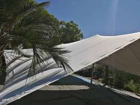 Second hand Bedouin tents 10x7.5 white