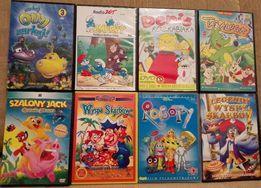 Płyty DVD dla dzieci 8 sztuk możliwość wysyłki