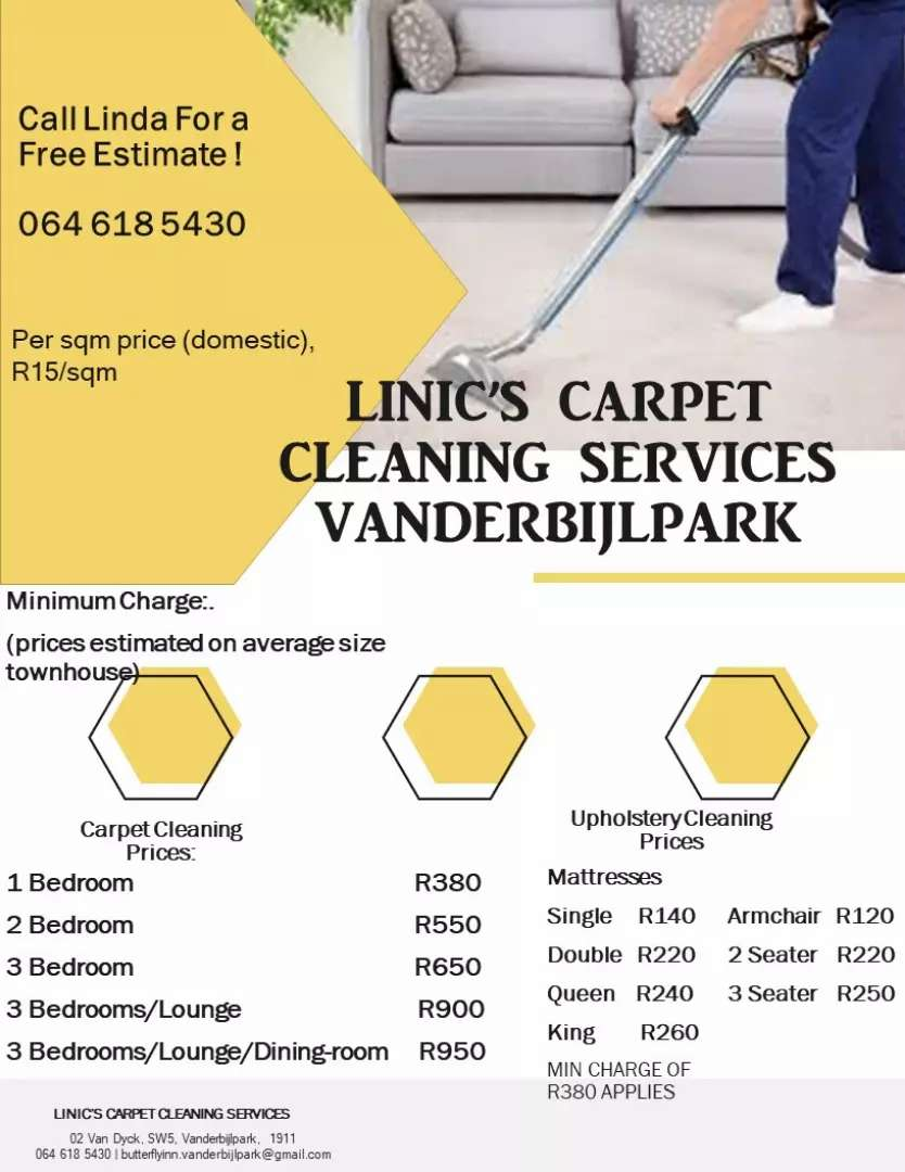 Carpet Cleaning Vanderbijlpark 0