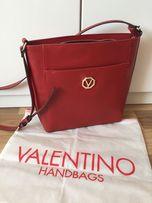 Torebka Mario Valentino oryginalna czerwona na ramię tommy guess dutti