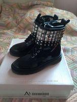 круті черевики для дівчинки AMIANA