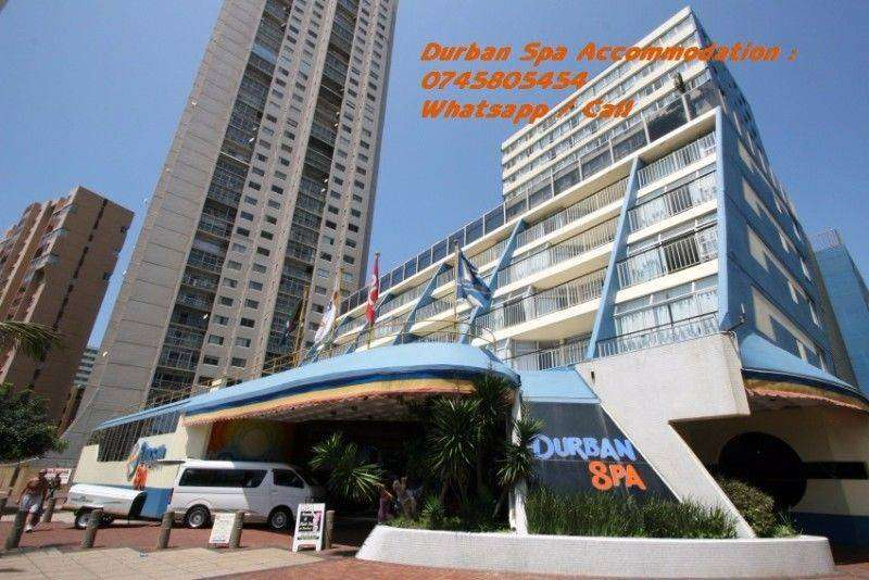 Durban Spa winter accommodation specials at the beach