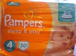 Памперсы Pampers Sleep & Play 650 руб