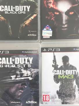 Playstation 3 Games (R150 each) R1500 for 15 games