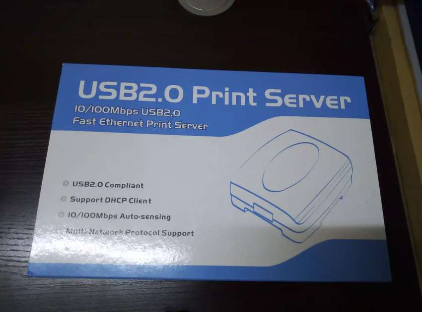 USB Print Server  1-Port  RJ45 USB A  USB 2.0 For all common os 0