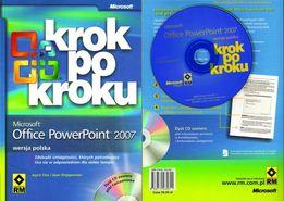 Microsoft Office PowerPoint 2007 Krok po kroku + CD