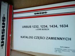 Katalog części zamiennych URSUS 1232,1234,1434,1634 Z EHR BOSCH suplem