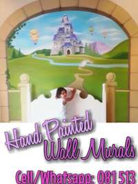 Image of Hand painted wall murals