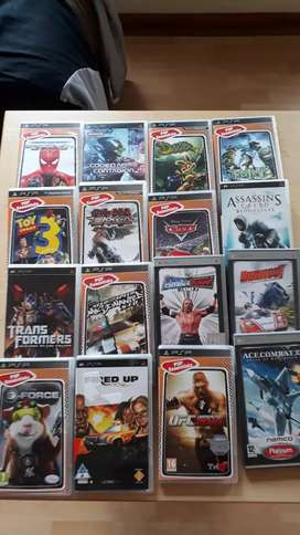 PSP games all in excellent working condition