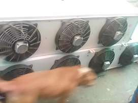 Single phase compressor unit and 3fan blower