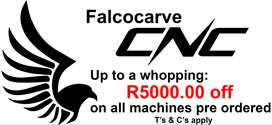 Falcocarve CNC Routers and Tables