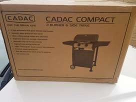 Cadac - Compact 2 Burner Gas BBQ - Black